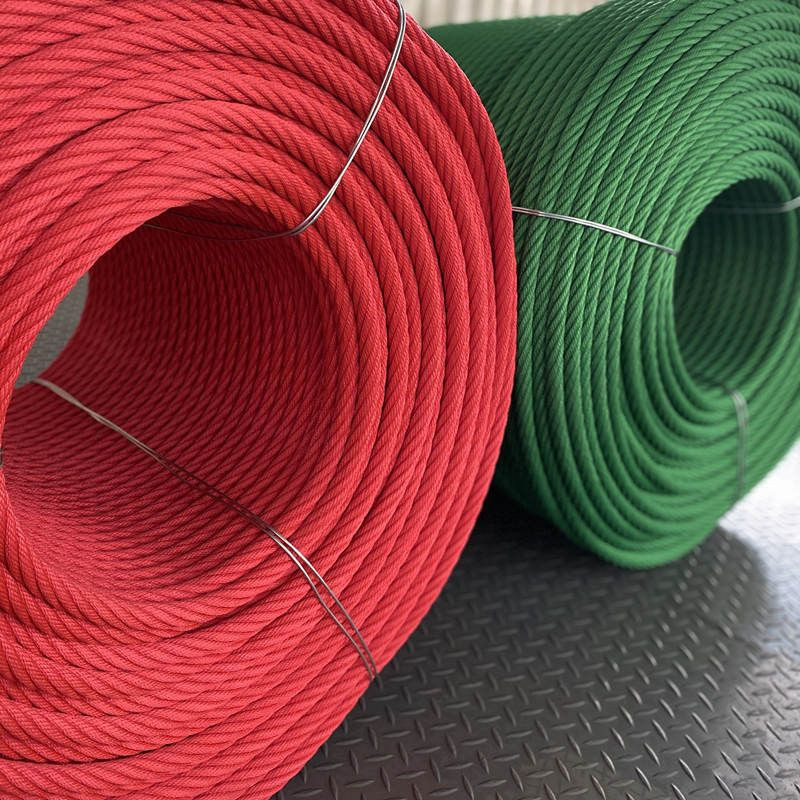 16mm playground combination rope with steel core