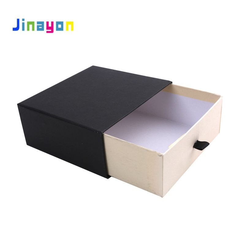 Jinayon High Quality Drawer Box Customize Type Packaging Paper Boxes Cardboard Sliding Gift Box