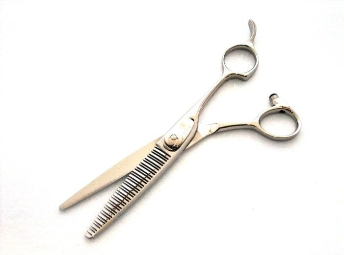 """""""Barcode 6.0Inch"""" Japanese-Handmade Thinning Hair Scissors (Your Name by Silk printing, FREE of charge)"""