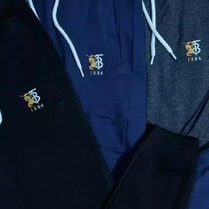 Branded hooded sweatshirt and pants