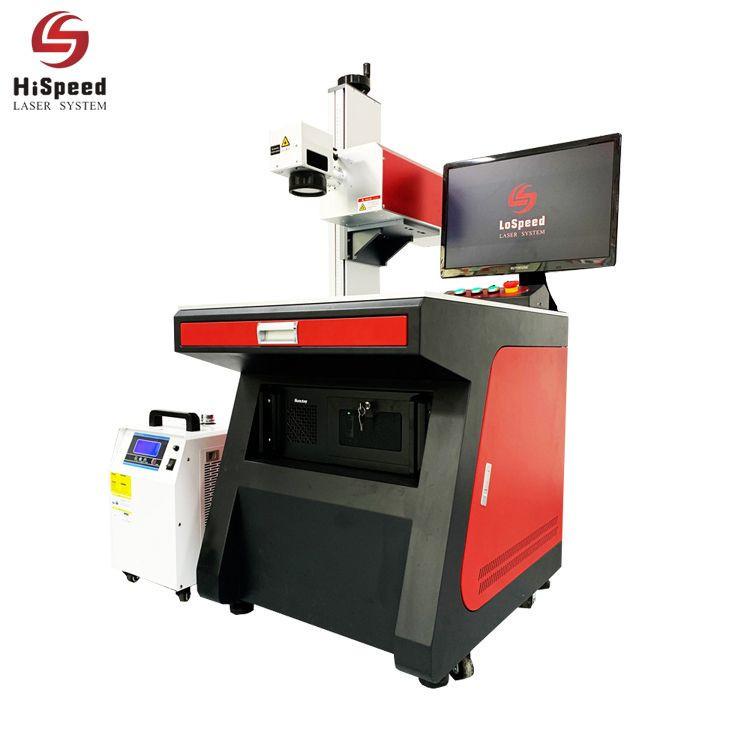 3W/5W/8W UV Laser Marking Machine for Non-Metal Plastic Glass