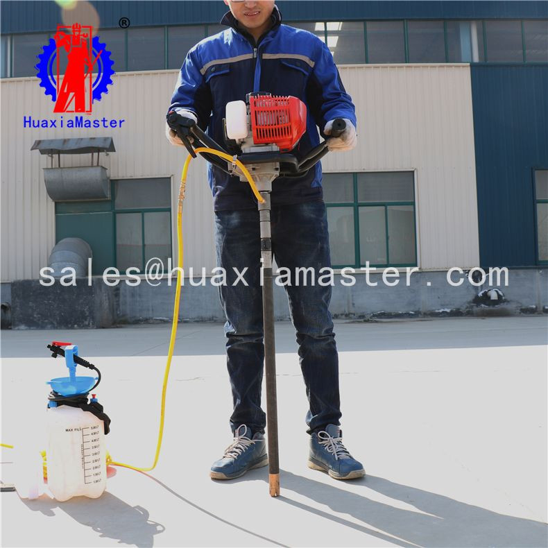 Huaxiamaster sale BXZ-1 backpack core drilling rig borehole drilling rig for sale