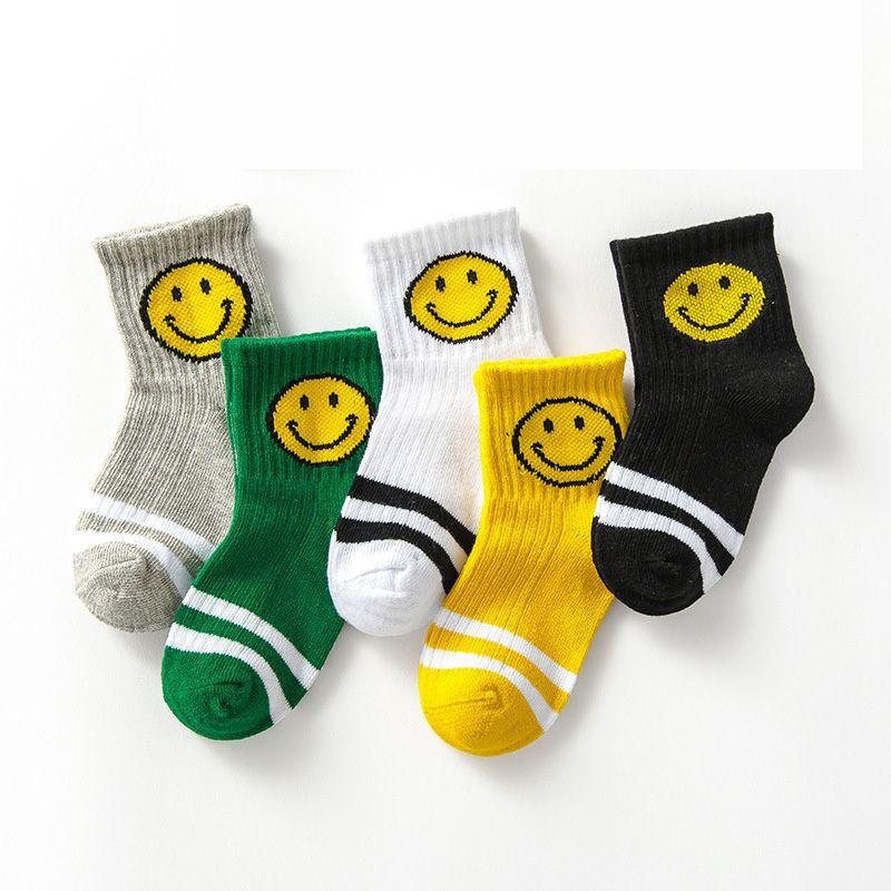 Winter Cute Socks Korea Stripe Design For Kid