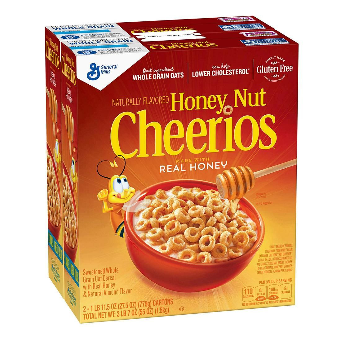 Honey Nut Cheerios Cereals