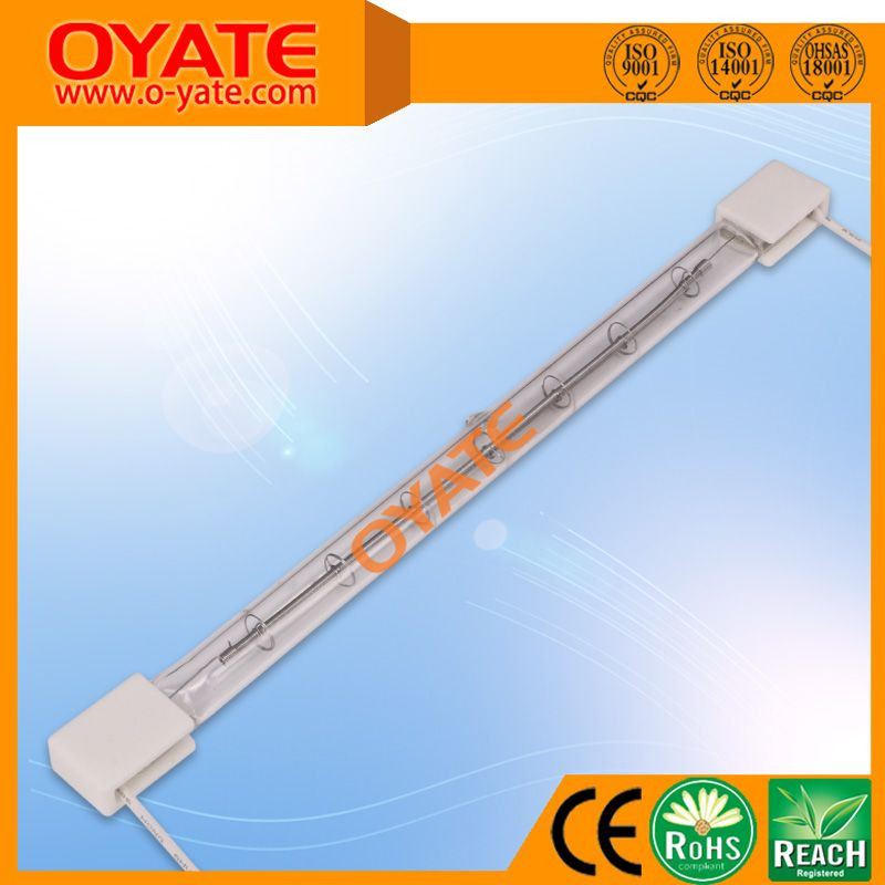400v 2500w fast heating infrared halogen heating lamps for PET blowing machine