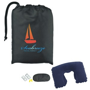 2015 New Promotional Travel Comfort Kit In Pouch