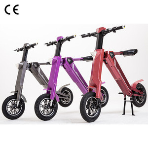 2018 Global Exclusive Automatic Folding System Gas Scooter With CE