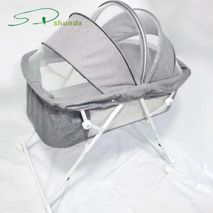 2020 New Style Wholesale Multifunction Portable Collapsible Cribs Kids Furniture Baby Beds for Infant