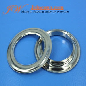 42*9*62mm large steel eyelet for curtain