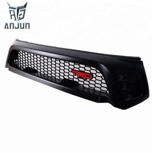 Anjun Auto Car Front Grill grille Guard For  2016 Hilux Revo