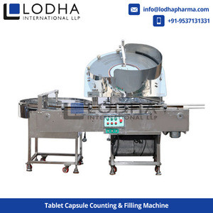 Automatic-Semi Automatic Tablet Capsule Counting & Filling Machine for Pharmaceutical Industry