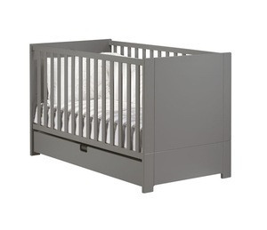Baby Product Wood Kids Bed Baby Cot Baby Crib Converts to Toddler Bed Bedding Set Bedroom Furniture