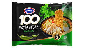 Best Seller Gaga100 Hot & Spicy Series Instant Noodle