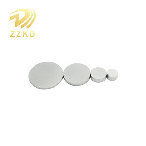 Cemented carbide substrate for PDC
