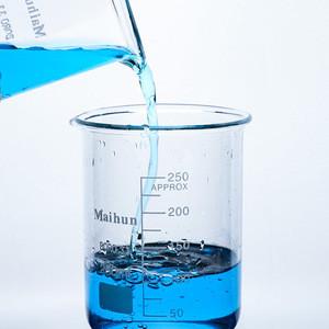China supplies 200ml laboratory glass ware high durability quartz beaker with scale