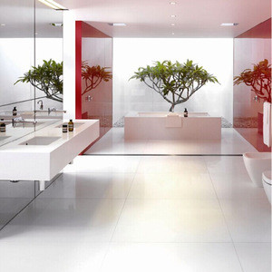 Chinese supplier Nanoglass 4 artificial stone crystal white marble