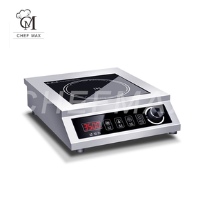 Commercial Customized 3.5KW Countertop Touch Knob Induction Cooktop Induction Cooker