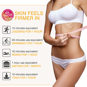 ELAIMEI 3D roller massage slimming cream vitamin C / E hyaluronic acid shaping slimming burning fat firming body essence 120g