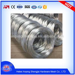 Electro Galvanized high quality Electro Galvanized steel iron wire