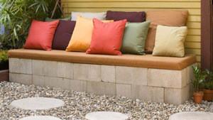 Family garden stone artwork, marble and granite garden bench design, import from china garden stone bench