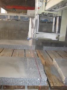 Granite paving stone plates