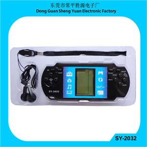 Handheld brain game Brick Game radio