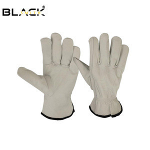 High quality driving sheepskin leather gloves for men