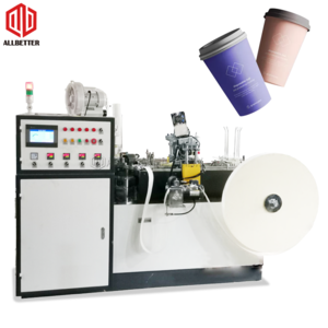 High Speed 600ML 800ML Soup Bowl Coffee Cold Drink Cup Disposable Paper Cup Machine Price