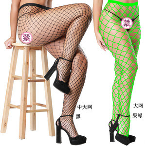 High Waist Tights Fishnet Stockings