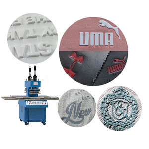 Hot Stamping For Logo Rolling Roller Industrial High Frequency Leather Belt Embossing Machine