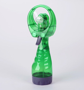 Mini handheld water spray cooling mist fan