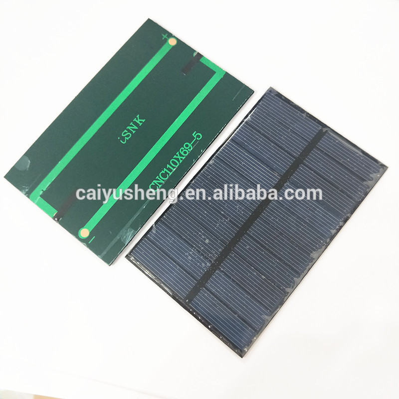 Mini Solar Panel 5V 25MA Solar Cells Photovoltaic Panels Module Solar Power Battery Charger for DIY Study 45 * 25MM