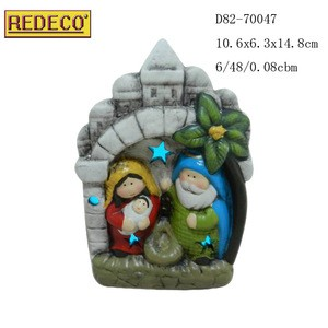 Nativity set in Christmas decoration supplies