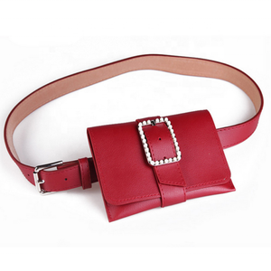 New HOT Style fashion PU bag outdoors running designer modern stylish with belt Waist Bag