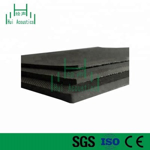 Noise Deadener Types of Acoustical Materials for Indoor Soundproofing Sound Damping Rubber