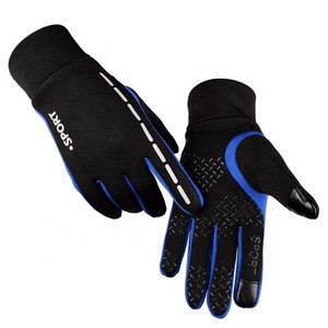 Outdoor Fullfinger Sport Bicycling Ride Bike Hiking Mountain Safety Driving Motorcycle Running Touchscreen Racing Gloves