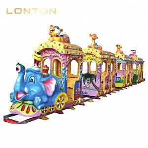 Theme Part Children Rides Kids Mini Track Train On Sale
