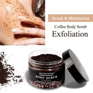 Top Quality Targeting Stretch Mark Sea Salt Sugar Body Lightening Coffee Scrub
