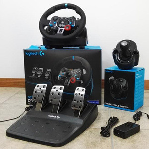 TOP RATED SELLERS FOR Logitech Dual-Motor Feedback Driving Force G29 Racing Wheel with Responsive Pedals Video Game Controller