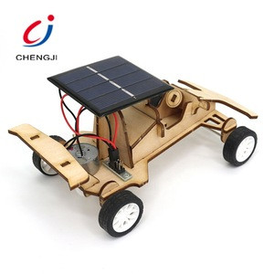 Toys Hot Sale Educacional Diy Solar Car Wooden, Gift Toys For Kids Wholesale Toy From China Kids Diy Wooden Cars Kit