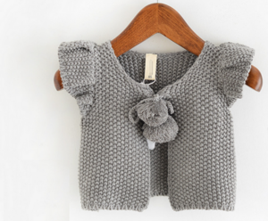 YF7806 autumn baby clothing cotton sleeveless fashion baby sweaters