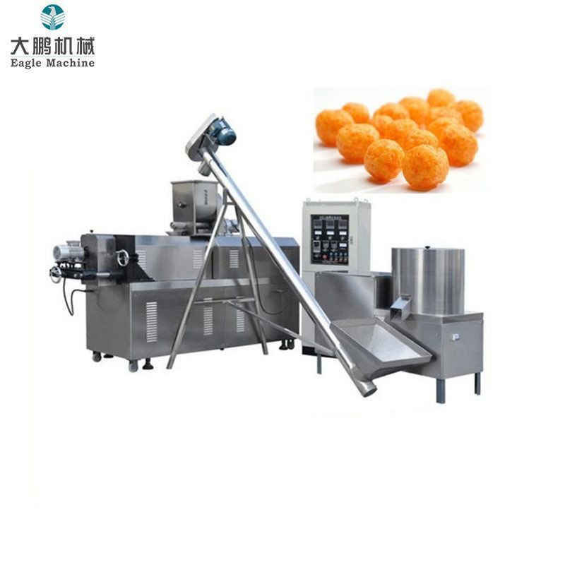 Corn Chips Puff Snack Extruder Processing Line Machine