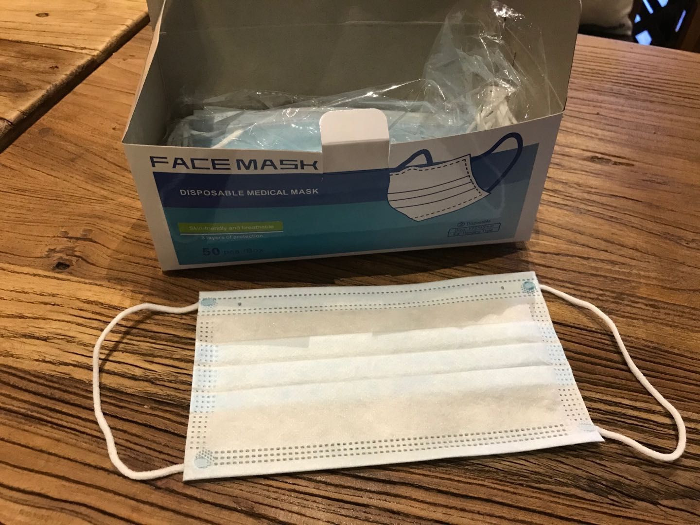 disaposable face mask