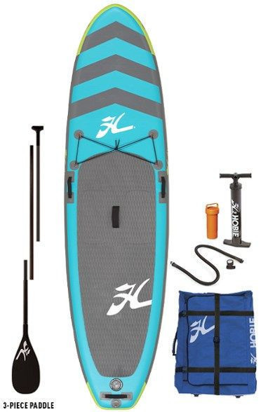 """Hobie Adventure Inflatable Stand Up Paddle Board with Paddle - 10'6"""""""