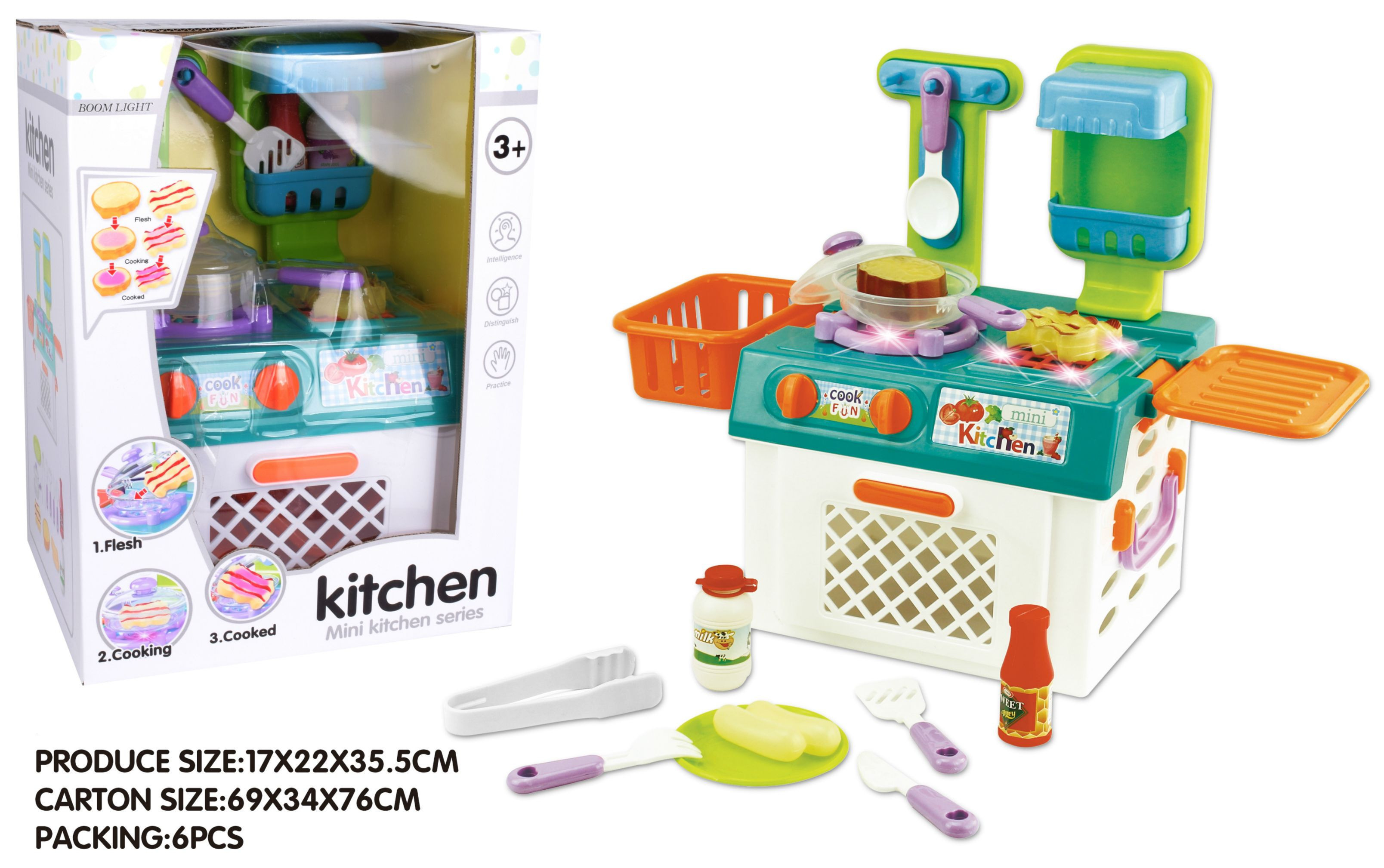 Kitchen Set with light and sound