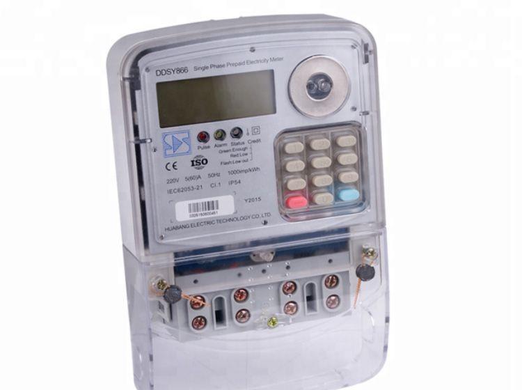 Electric prepaid meter