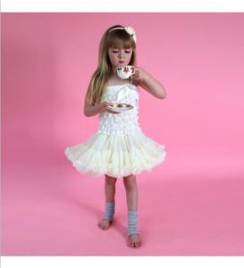 2015 best selling ballet tutu skirt lace top chiffon skirt baby kids tutu skirt