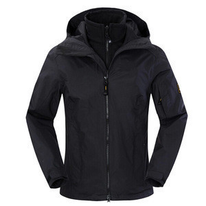 2018 waterproof windproof chinese clothing manufacturers mens 3 in 1 jacket