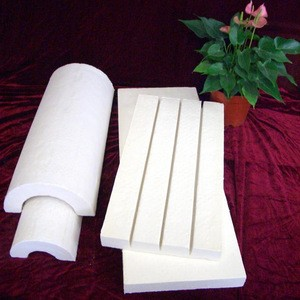 3 feet length  ASTM Calcium Silicate Insulation pipe and block strongest calsil conform with ASTM C533 type 1  stock in USA
