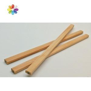 Angular oval shape carpenter pencil